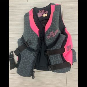 Body Glove Pink Life Jacket Small